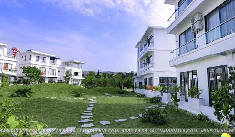 Villa FLC Sầm Sơn SH43 có sân cỏ rộng rãi