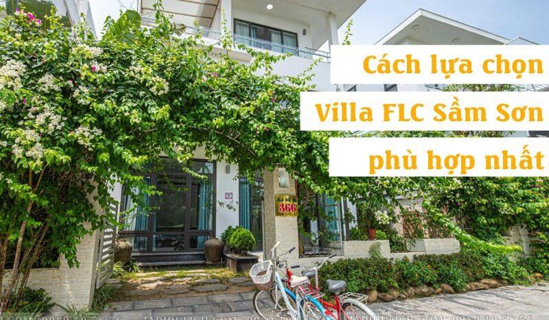 Cách chọn Villa FLC Sầm Sơn