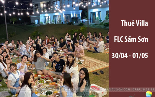 Villa FLC Sầm Sơn dịp 30/04