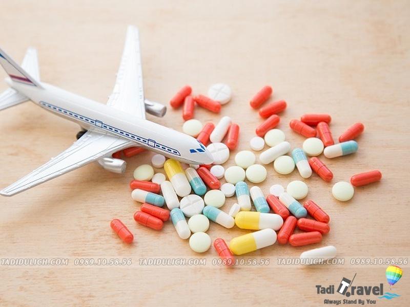 Mang thuốc khi đi du lịch Sầm Sơn